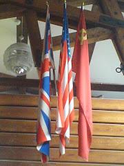 Las tres banderas ganadoras