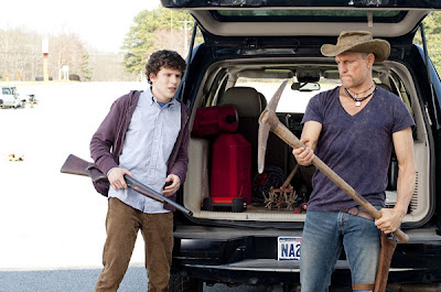 Woody Harrelson and Jesse Eisenberg - Zombieland