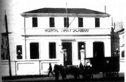 Hospital Juan F. Salaberry recién inaugurado en setiembre 1915