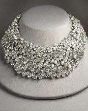 Fragments for Neiman Marcus Crystal Necklace. :  swarovski costume chocker neiman marcus