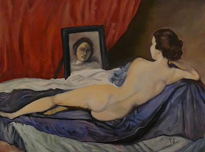 Los cuadros de mi abuela venus del espejo copia - La venus del espejo ...