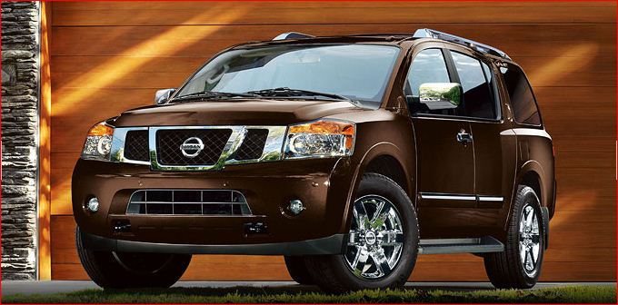 The 2011 Nissan Armada offers a sturdy structure, and a powerful engine,