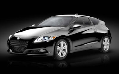 2011 Honda CR-Z black