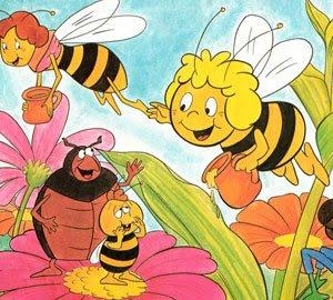 La abeja Maya Dibujos-infantiles-flores-abeja-maya-p
