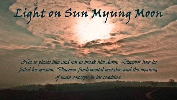 Light on Sun Myung Moon