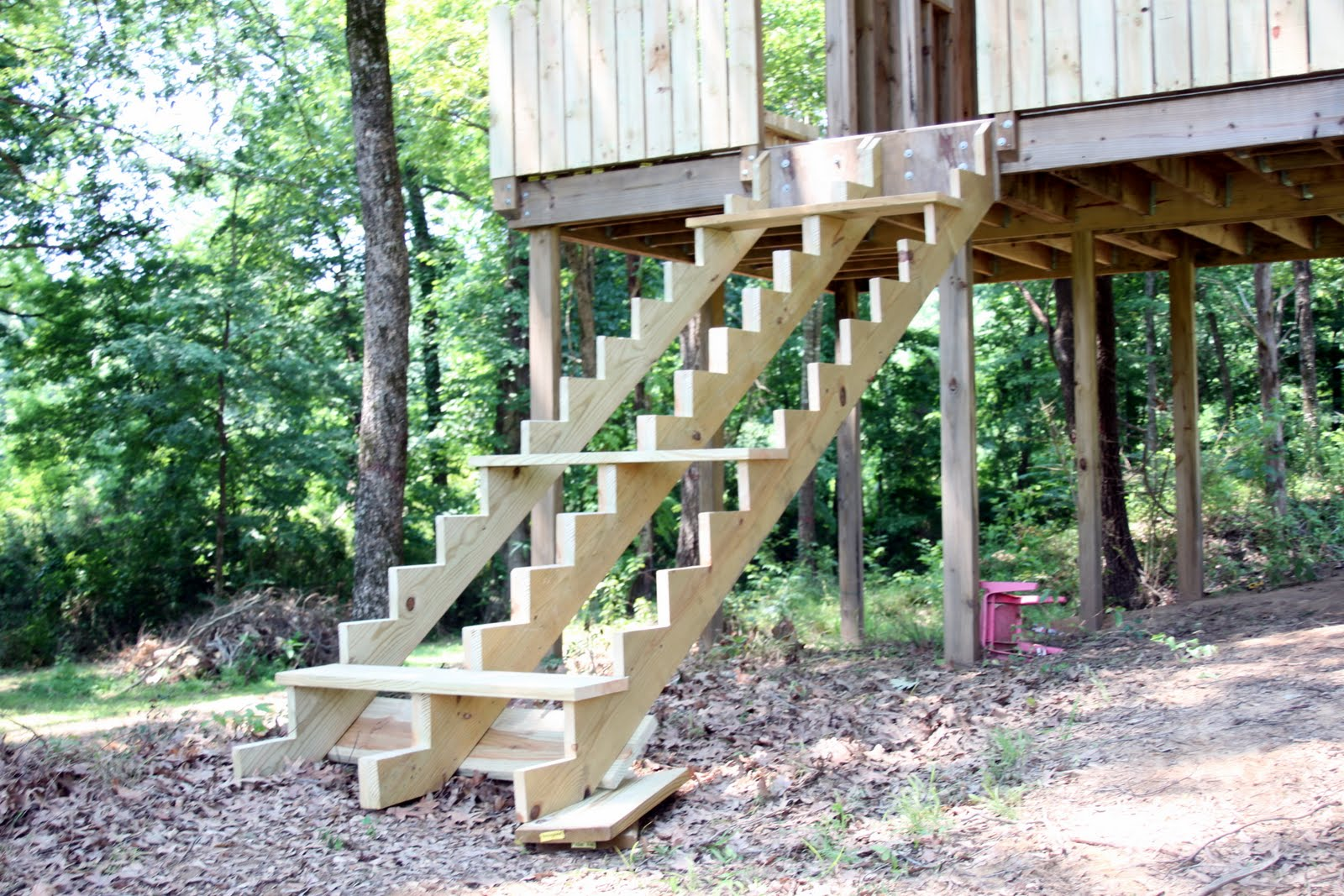 Treehouse Stairs!