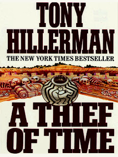 5 Squared A Thief Of Time Tony Hillerman border=