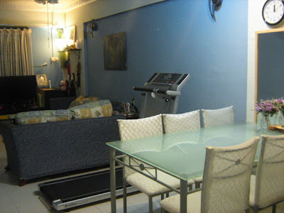 blue room, singapore flat, 2+1 flat, renting flat