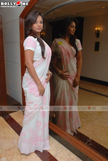 Neetu Chandra Hot photos in a sari