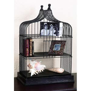 Gothic Home Decor on Iron Tole Gothic Shape Desk Caddy With Wood Finial By
