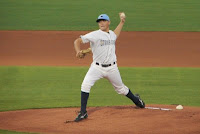 Matt Moore picked up his first FSL win on Tuesday night.  Photo by Jim Donten.