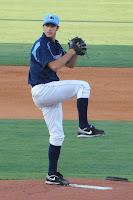Darin Downs improved to 6-1 with the win, allowing 1 hit with four strikeouts in 2 innings.  Photo by Jim Donten.