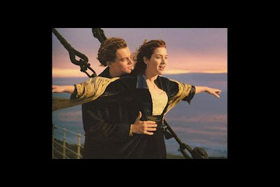 kate winslet titanic drawing with leonardo dicaprio