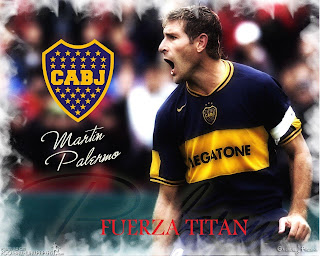 Martin Palermo Wallpaper Boca Junior