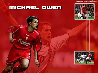 Michael Owen Wallpaper