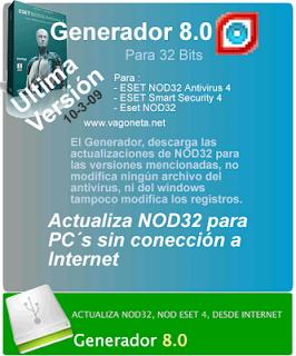 Eset Generador 8.0 Alfa [x86] Actualiza Eset 4 Generador