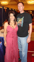Travis with Marina Sirtis