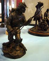 Civil War bronze statuary