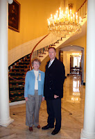Mary-Laine and me at the Governor's Mansion