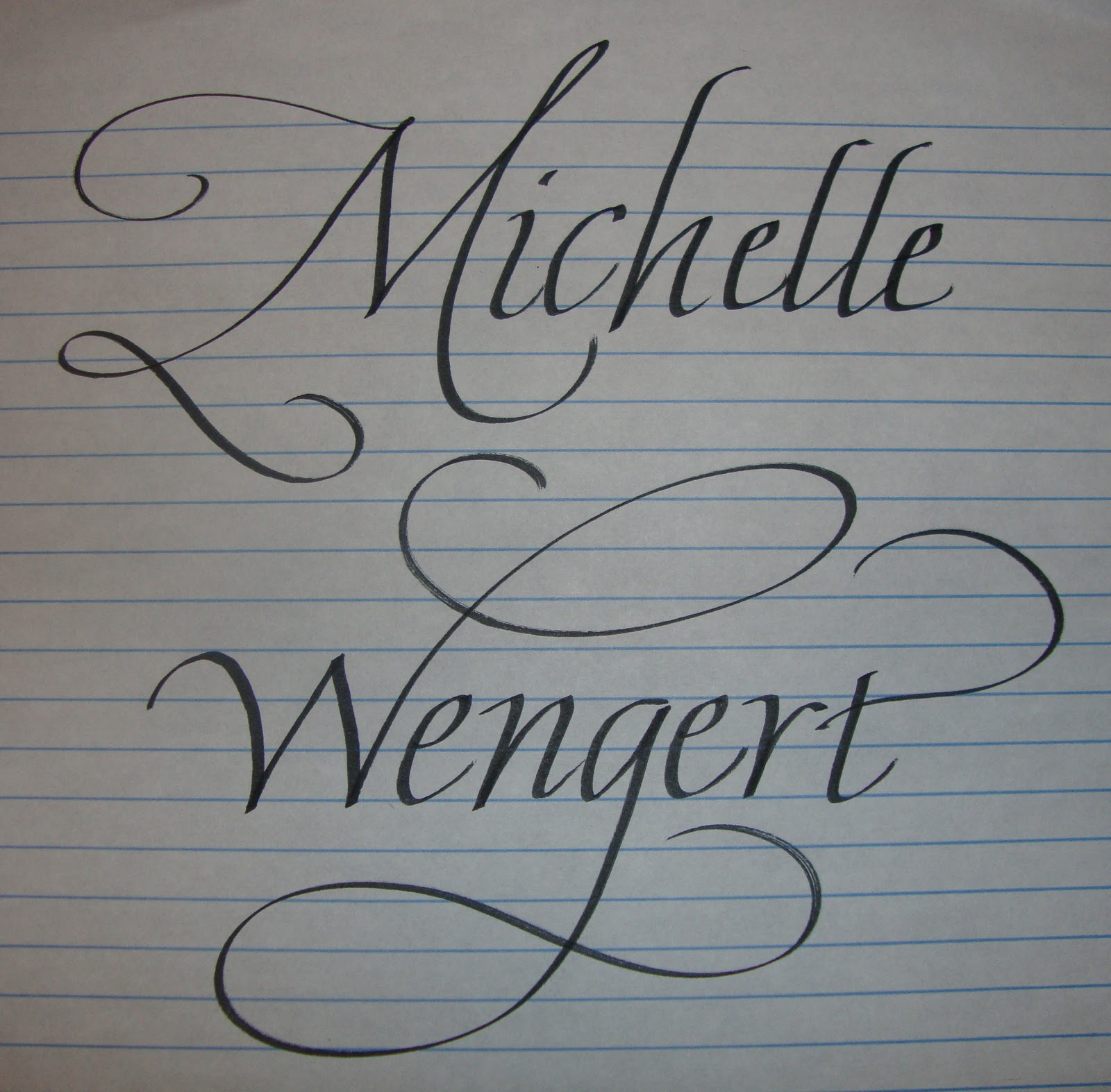 Search results for lined paper for cursive calendar 2015 My name in calligraphy