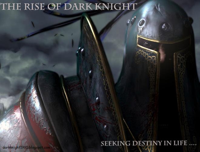 THE RISE OF DARK KNIGHT