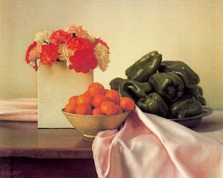 CLAUDIO BRAVO - Página 2 Claveles,+chiles+y+mandarinas.+Claudio+Bravo+1986