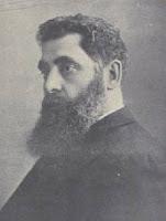 Jacob Gordin, een van de beroemdste Jiddische toneelschrijvers