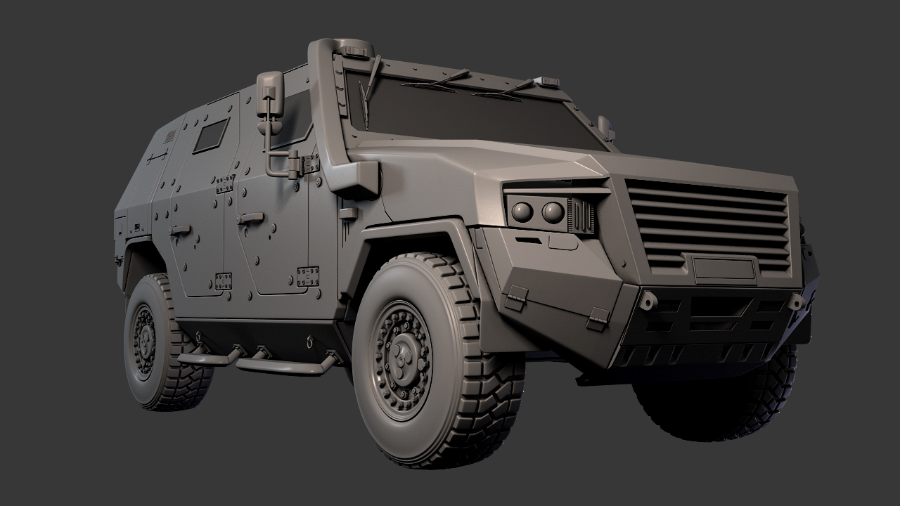 finally finished the ampv model learned a lot out of this and should