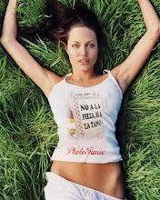 Angelina nos lleva a todos lados!