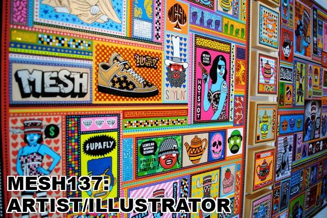 MESH137: Artist/Illustrator