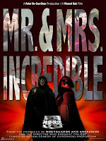 Mr & Mrs Incredibles