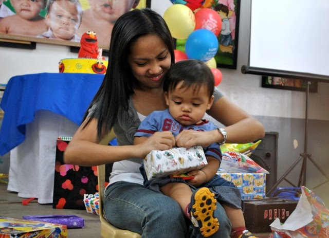 Alden Niño Gabriel Cabreros Camaya, Rizaleen Camaya's first baby boy, First Birthday Celebration at School of the  Holy Child in Pampanga