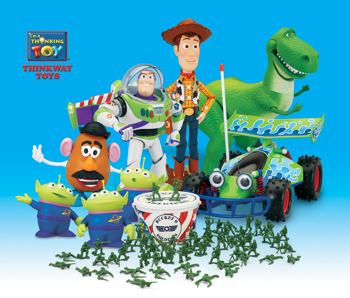 Toy Story Toys : Pixar watch toy story collection wave for