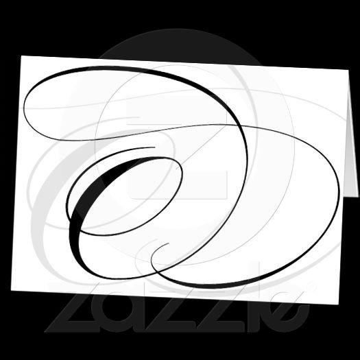 Imagina On Zazzle Elegant Black And White Calligraphy