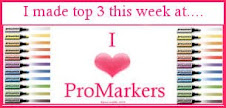 I made Top 3 at I Love Promarkers!