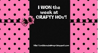 I won a Crafty Ho's!