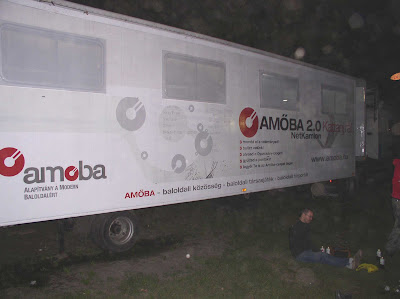 Amoba.hu a Sziget Fesztiválon, ingyenes internet