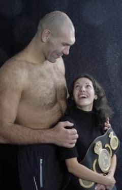 Nikolai Sergejewitsch Walujew, wife, feleség, felesége, Nikolai Sergeyevich Valuev, Nicolay. Nikolaj, Valujev, box, champion, boxer, boxoló