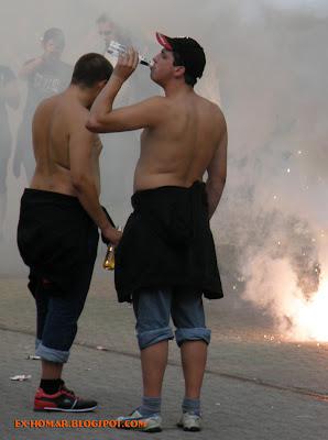 Polizei gegen Sturm Graz,Budapest, Honved