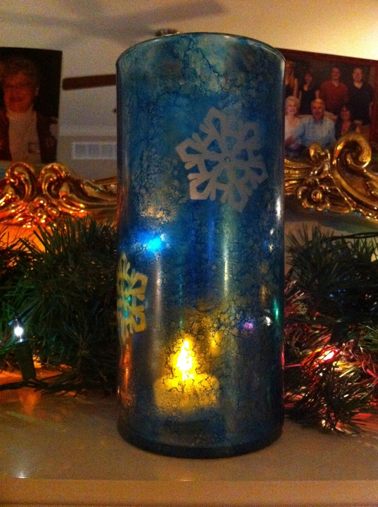 dollar tree vases. got mine from Dollar Tree)