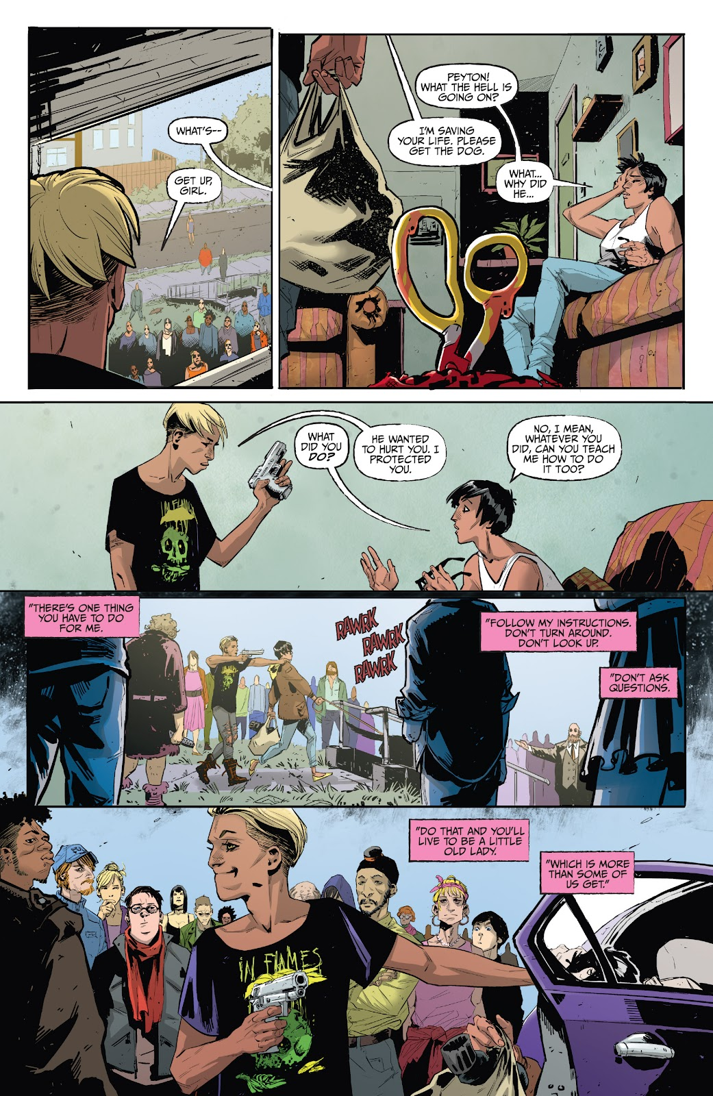 Read online Welcome Back comic -  Issue #4 - 7