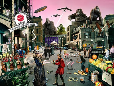 bandas mais famosas de todos os tempos representadas na imagem