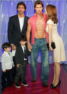 Hirthik Roshan waxed at world-famous Madame Tussauds museum