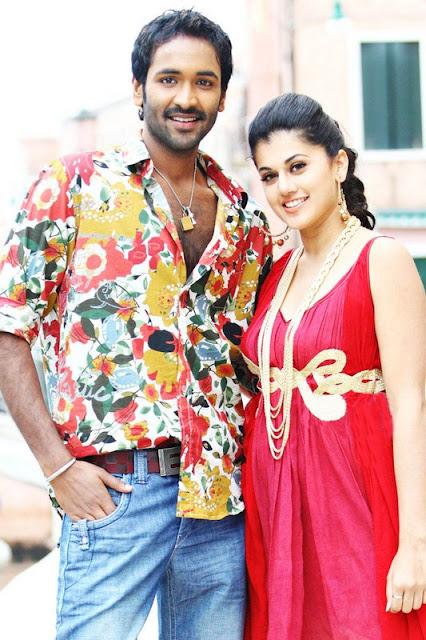 Vishnu, Tapsee Stills from Latest Telugu Movie Vasthadu Naa Raju