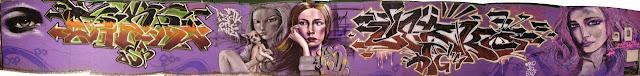 graffiti de izak ft pier saga berko en buenos aires