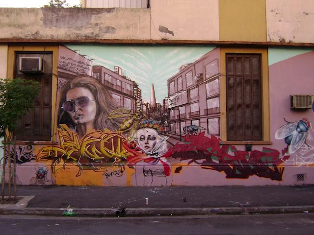 graffiti de izak en buenos aires