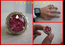 RUBY TANZANIA MENS RING
