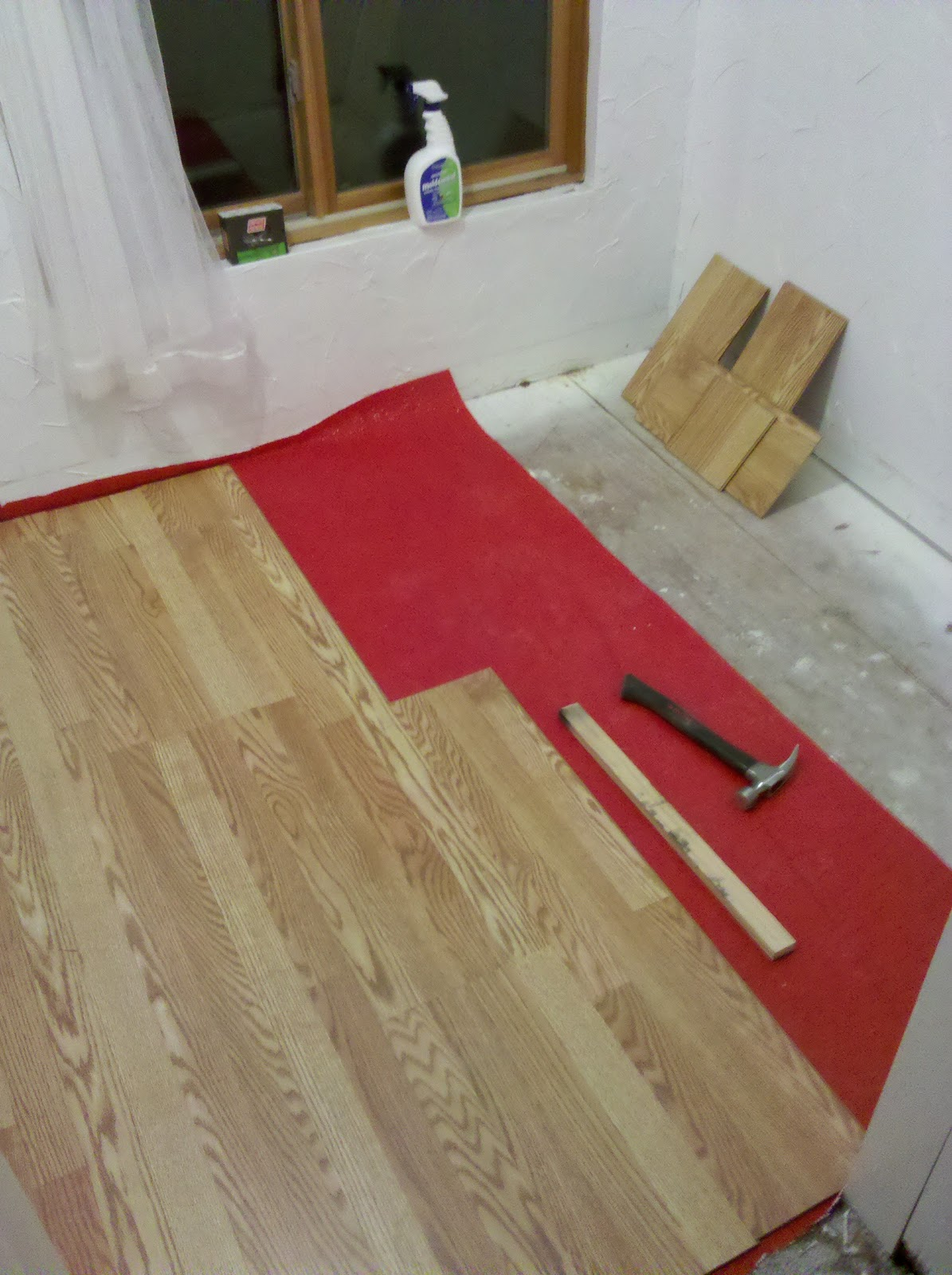 spare room flooring is done diy steps to install laminate wood flooring