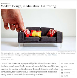 Modern Miniature Design in the New York Times!