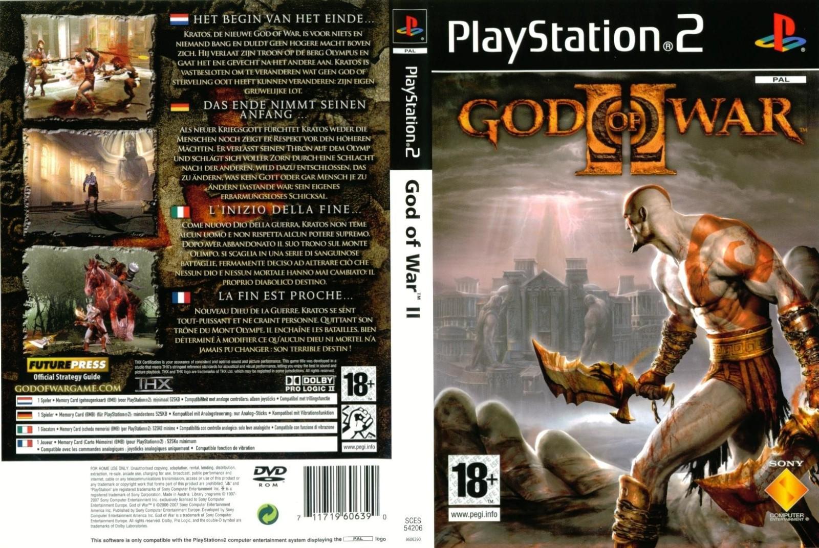 god of war 2 for pcsx2 download